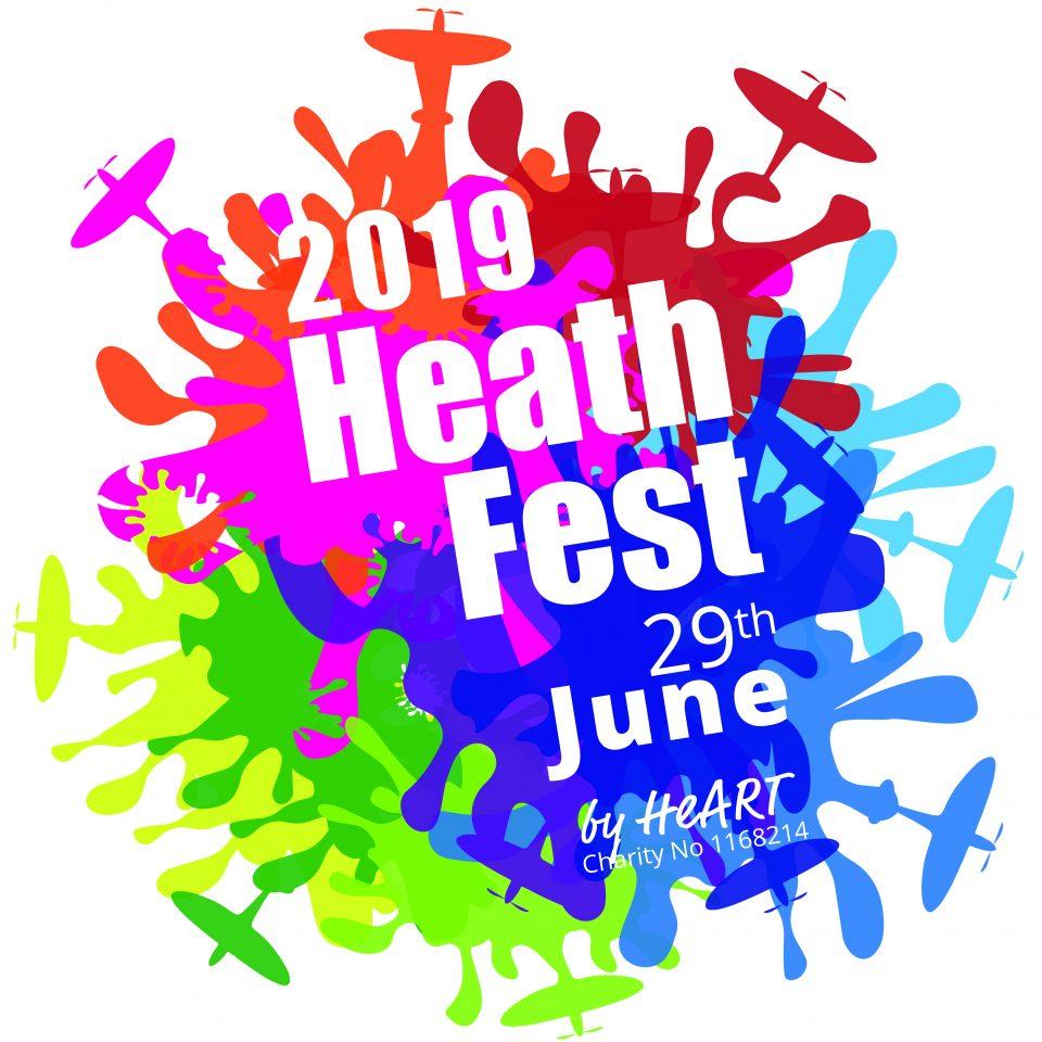 Heathfest 2019 logo