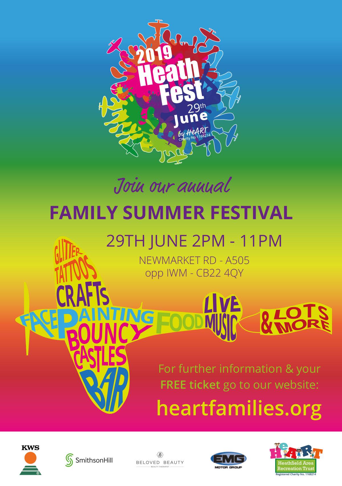 Heathfest 2019 Poster